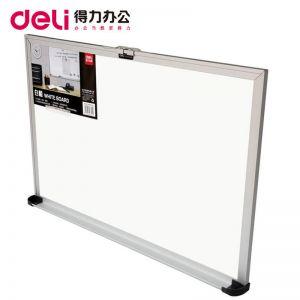 得力7842 办公书写白板 磁性白板 展示白板 家用儿童 600*400mm